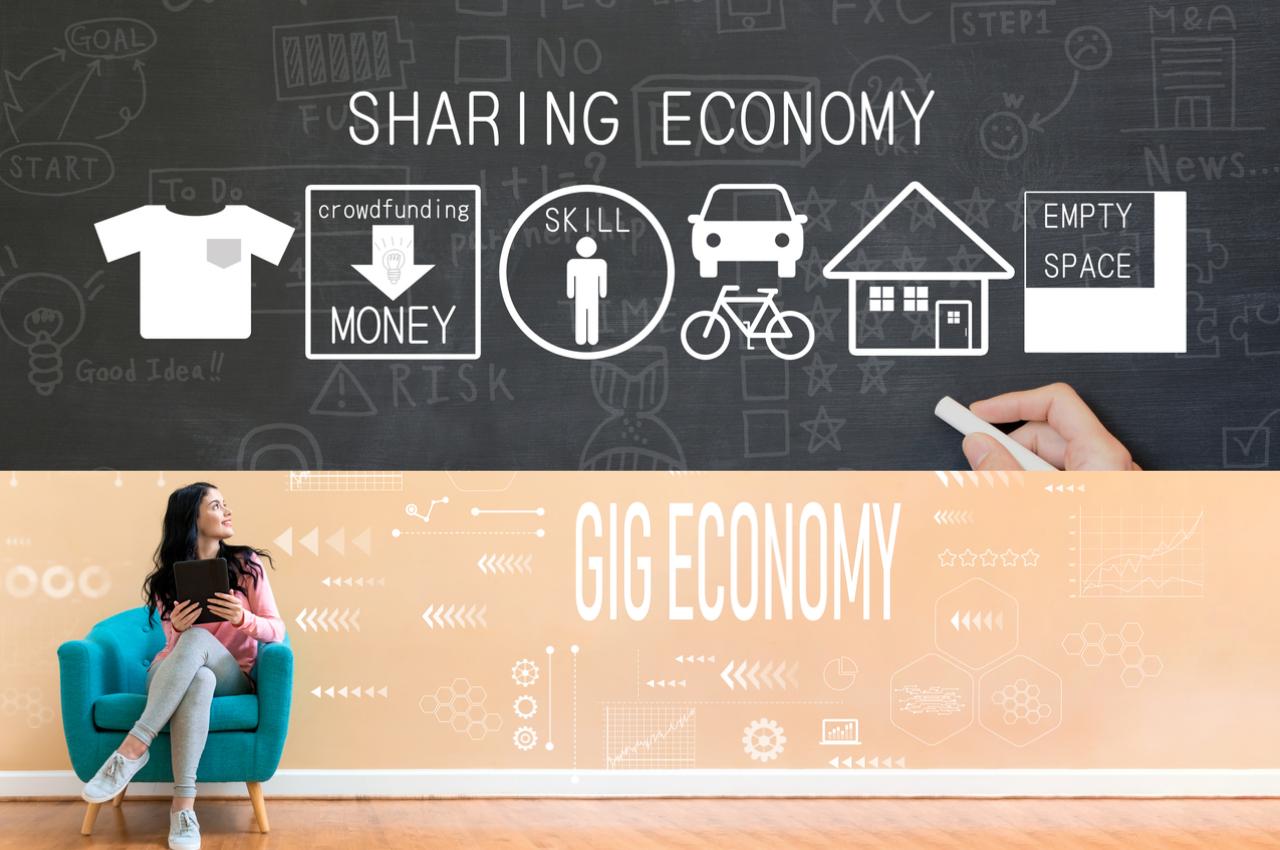 Ingresos adicionales con el sharing economy y gig economy